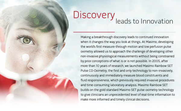 Discovery leads to Innovation